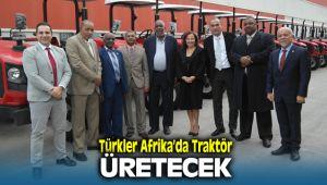 Erkunt Traktör Afrika'da Traktör Üretiyor