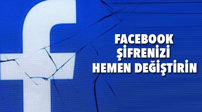 Facebook Şifrelerinizi Bu Haberden Sonra Mutlaka Değiştirin