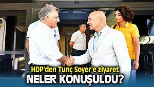 HDP İstanbul Milletvekili Erol Katırcıoğlu'ndan Tunç Soyer'e Ziyaret