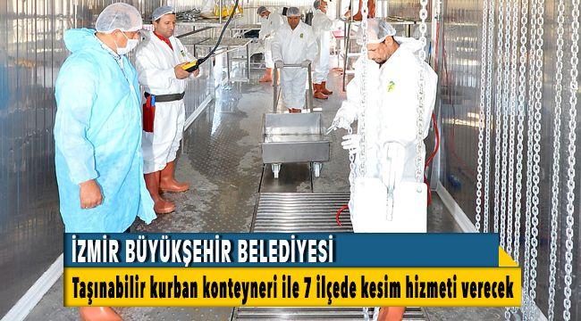 İzmir Büyükşehir Belediyesi 7 İlçede Kesim Hizmeti verecek