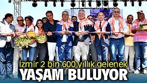 İzmir'de 2 bin 600 yıllık gelenek canlanıyor