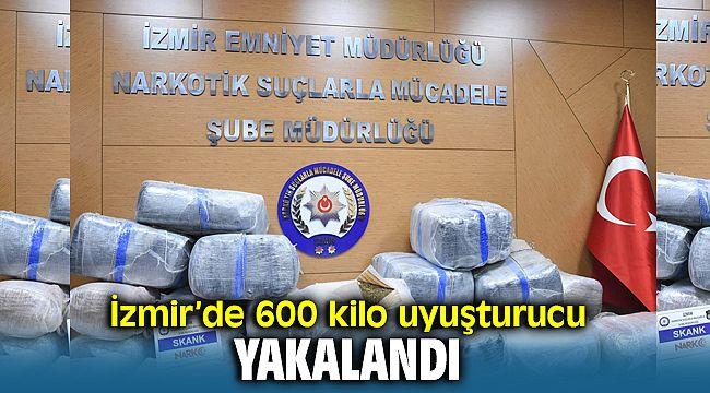 İzmir'de 600 Kilo Uyuşturucu ( Spank ) Yakalandı