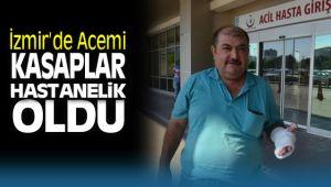 İzmir'de Acemi Kasaplar Kendilerini Kesti
