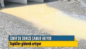 İzmir'de Deniz Çamur Akıyor Tepkiler Artıyor