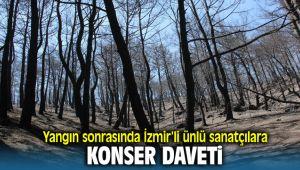 İzmir'de ki Büyük yangının ardından İzmirli ünlü sanatçılara konser daveti
