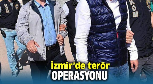 İzmir'de PKK'ya Darbe