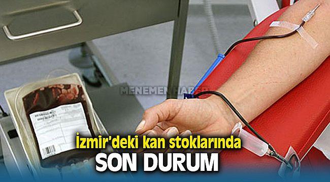 İzmir'deki Kan Stoklarında Son Durum
