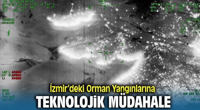 İzmir'deki Orman Yangınlarına Teknolojik Müdahale
