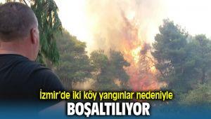 İzmir'deki yangınlar Nedeniyle iki köy boşaltılıyor