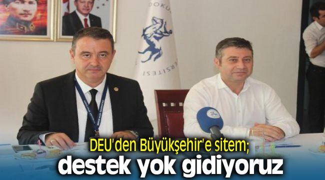 İzmir Dokuz Eylül Üniversitesi'nden İzmir Büyükşehir Belediyesine Sitem