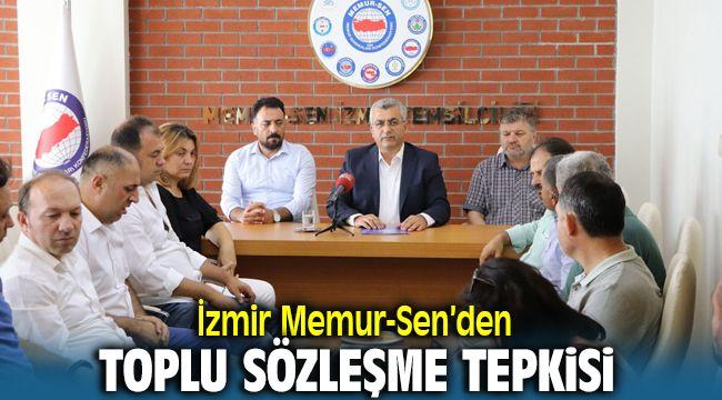İzmir Memur-Sen'den Hükümetin Zam Teklifine Tepki