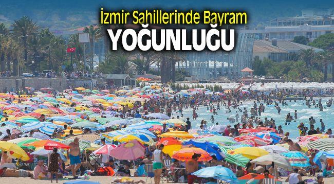 İzmir Sahilleri Bayramda Doldu Taştı