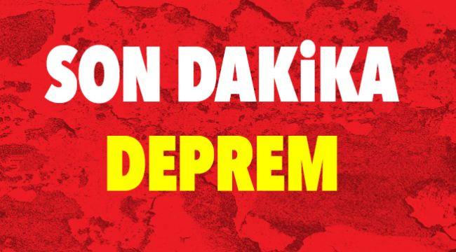 İzmir Seferihisar'da Son Dakika Deprem
