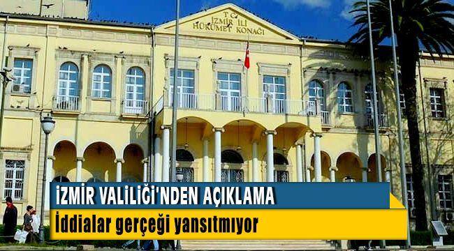 İzmir Valiliğinden Muhtara Suriyelilerle ilgili talimat verildiği iddiaları hakkında açıklama yaptı