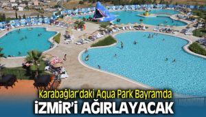 Karabağlar Aqua Yaşam havuzları Bayram'da İzmirlileri Bekliyor