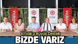 """Kitvak'a Büyük Destek """"Kitvak'la Biz de Varız"""""""