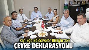 Kıyı Ege Belediyeler Birliği Çevre Deklarasyonu Yayınladı