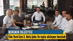 Menemen Belediyesinde Toplu Sözleşme Bayramı