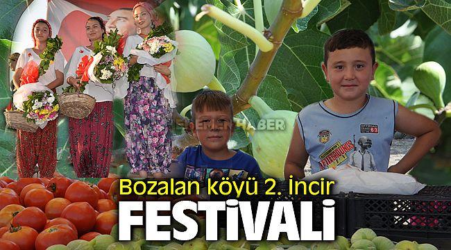 Menemen Bozalan Köyünde İncir Festivali Yoğun İlgi
