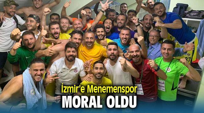 Menemenspor Galibiyeti İzmir'e Moral Oldu