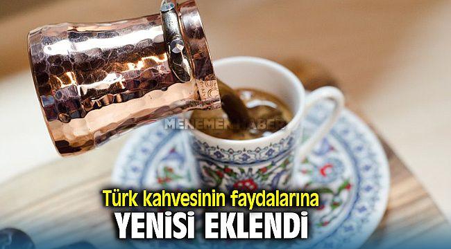 Türk Kahvesinin Bilinmeyen Faydalarına Bir Yenisi Eklendi