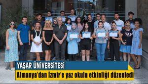 Yaşar Üniversitesi Almanya'da yaşayan öğrencilere İzmir'de Yaz Okulu Etkinliği Düzeneldi