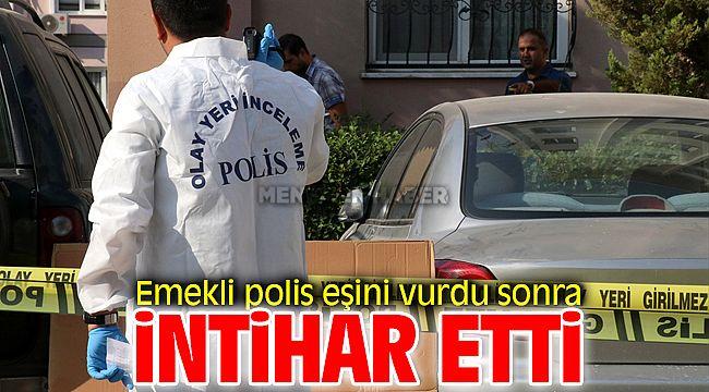 Çiğli'de Eşini Vuran Emekli Polis İntihar Etti