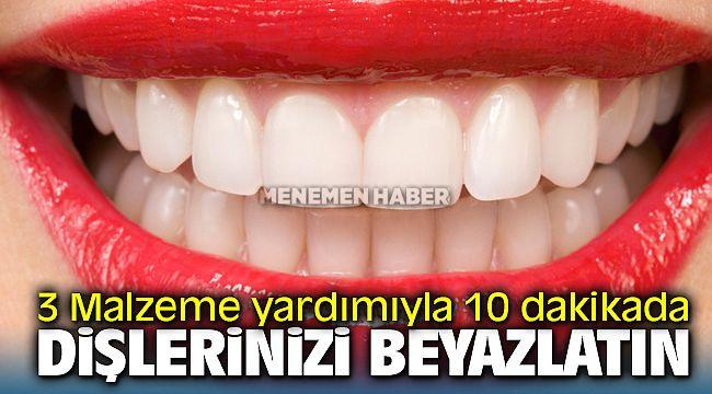 Dişleri Beyazlatmanın En Kolay Yolu