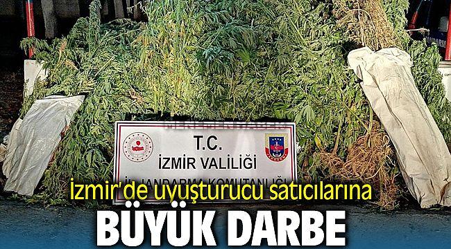izmir'de Uyuşturucu tüccarlarına darbe
