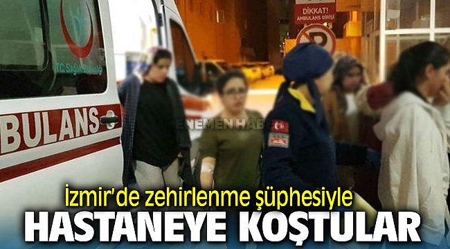 İzmir'de zehirlenme şüphesi: 50 kişi hastaneye başvurdu