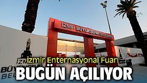 İzmir Enternasyonal Fuarı Açılıyor
