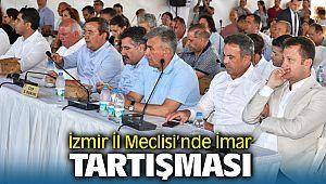 İzmir İl Meclisi'nde Yangın Alanında Yapıldı