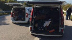 İzmir ve Menemen'de insan kaçakçılarına darbe: 11 tutuklama