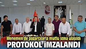 Menemen Belediye Başkanı Serdar Aksoy pazarcılarla olan tartışmaya nokta koydu