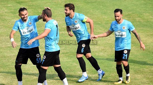 Ziraat Türkiye Kupası: Ekol Göz Menemenspor 2 - Kırşehir Belediyespor 1