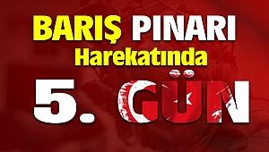Barış Pınarı Harekatı 5. Gün Fırat'ın Doğusu Teröristlerden Arındırılıyor