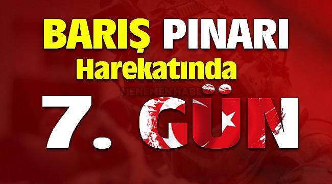 Barış Pınarı Harekatı 7. Gün Teröristler Sivil Kıyafetlerle Bölgeyi Terk Ediyor