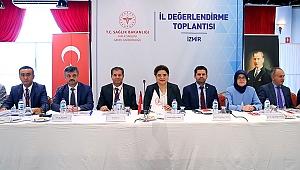 İzmir Halk Sağlığı Hizmetleri Balçova Termal'de Değerlendirildi.