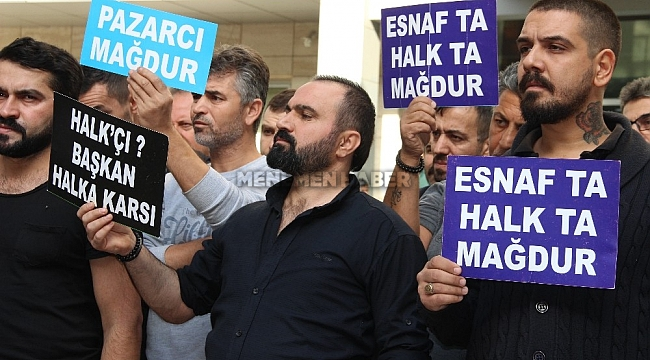 İzmir'de Pazaryeri krizlerine Gaziemir'de katıldı