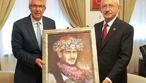 Ödemiş Belediye Başkanı Mehmet Eriş'ten CHP Lideri Kılıçdaroğlu'na ziyaret