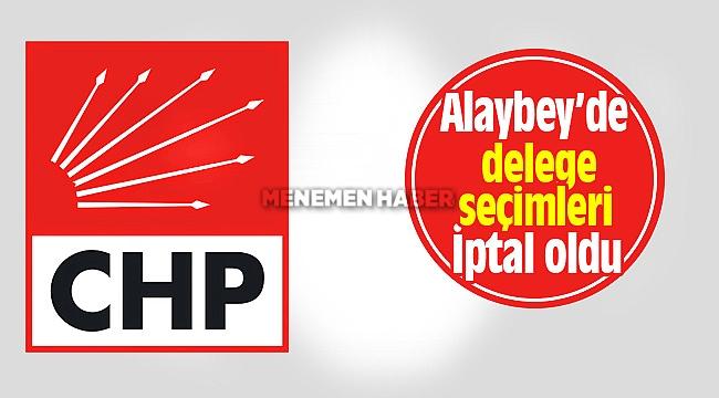 Alaybey'de delege seçimleri sandık güvenliği sebebiyle iptal