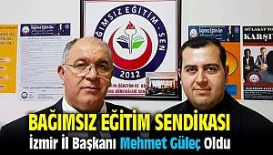 Bağımsız Eğitim Sen İzmir İl Başkanı Mehmet Güleç Oldu