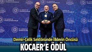 Demir-Çelik Sektöründe İlklerin Öncüsü KOCAER'e Ar-Ge Merkezi Ödülü