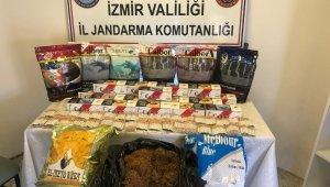 Jandarmadan kaçak tütün satışı yapanlara darbe
