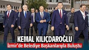 Kemal Kılıçdaroğlu, İzmir'de belediye başkanlarıyla buluştu