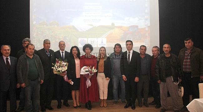 Menderes'te Tarımsal Kalkınma Konferansı yoğun katılımla yapıldı.