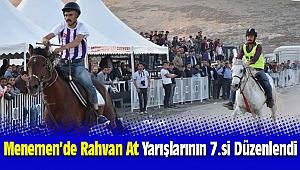 Menemen'de Rahvan At Yarışlarının 7.si Yoğun İlgi Gördü