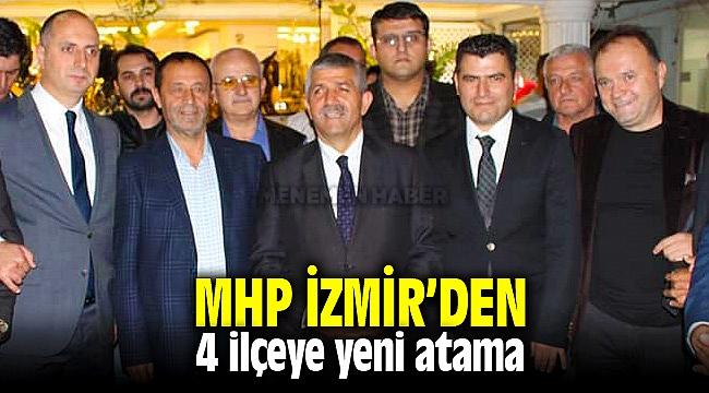 MHP İzmir'den 4 ilçeye yeni atama