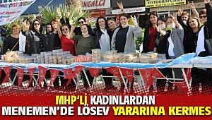 Milliyetçi Kadınlar Tüm İzmir'de Lösev yararına Kermesler düzenliyor