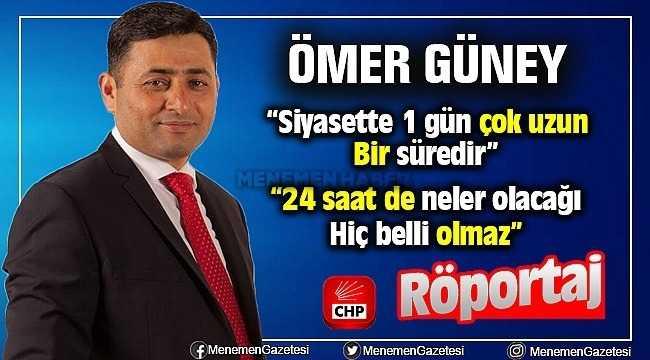 Ömer Güney ile CHP İlçe Başkanlığı Röportajı